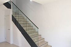 glass-handrail for staircase