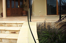 curved nulite 2000 glass balustrade