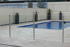 adelaide pool balustrade