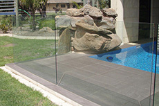 frameless glass pool fencing in adelaide