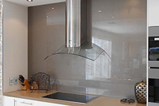 glass splashback at McLaren Flat